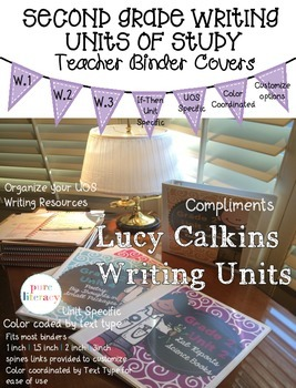 Lucy Calkins Second Grade Writing Units of Study Teacher B