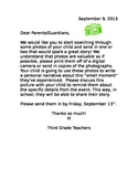 Lucy Calkins: Small Moment Picture Collection Letter