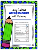 Lucy Calkins Small Moments and Informational Checklist