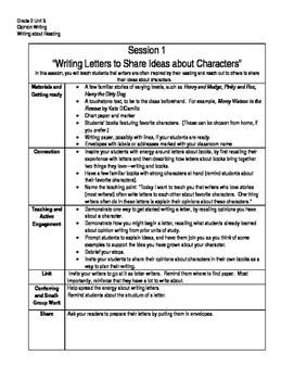 Writing Summary, Grade 2 Unit 3, Writing About Reading