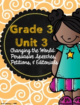 Third Grade Writing Units of Study Teacher Binder Covers