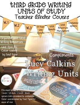 Lucy Calkins Third Grade Writing Units of Study Teacher Bi