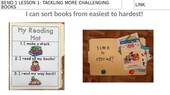 Lucy Calkins Unit 3 Bend 1: Bigger Books, Bigger Reading Muscles Lessons 1-6