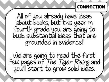 Lucy Calkins Unit Plans: 4th Grade Reading Unit 1- Interpreting Characters