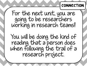 Lucy Calkins Unit Plans: 4th Grade Reading Unit 3-Reading History