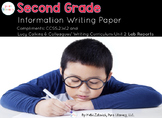 Second Grade Information Writing/ Lab Report Paper Pack {L