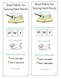 Lucy Calkins Units of Study Reading 1st Grade - Good Habit