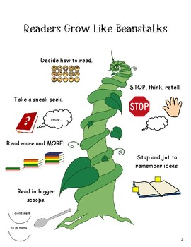 Lucy Calkins Units of Study Reading 2nd Grade - Grow Like Beanstalks