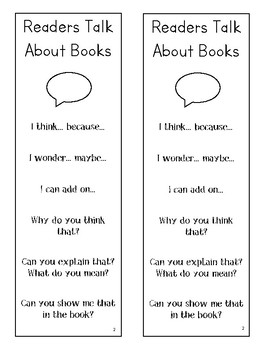 Lucy Calkins Units of Study Reading 2nd Grade - Readers Talk About Books