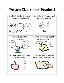 Lucy Calkins Units of Study Reading Kindergarten - We are Storybook Readers Tool