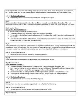 Lucy Calkins Units of Study: Writing Grade 3; Unit 1 Narrative