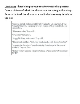 Lucy Calkins Units of Study comprehension quiz (Unit 3-bend 3)