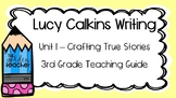 Lucy Calkins Writer's Workshop Mini-Lessons PowerPoint - Third Grade