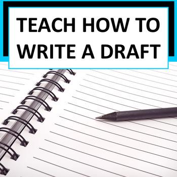 Writers Workshop - Drafting Lesson