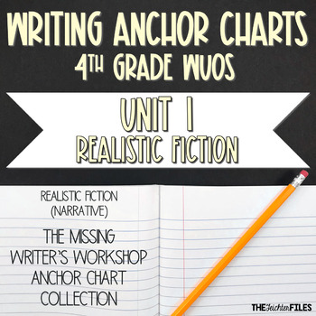 Lucy Calkins Writing Workshop Anchor Charts 4th Grade WUOS (Unit 1 Narrative)