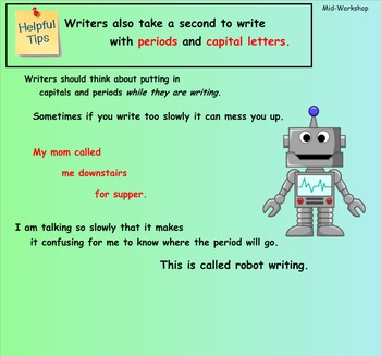 Writing Unit 1: Crafting True Stories: Grade 3 Lessons 1-6 SMART