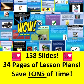 Lucy Calkins Lesson Plans Slides 4th Grade Writing Unit 1: The Arc of Story