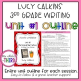 Lucy Calkins Writing Unit #1- Grade 3