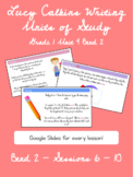 Lucy Calkins Writing Units of Study Grade 1 Unit 4 Bend 2 Slides