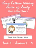 Lucy Calkins Writing Units of Study Grade 1 Unit 4 Bend 3 Slides
