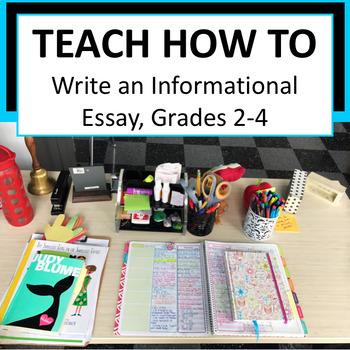 Writers Workshop: Informational Essay