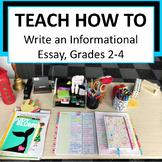 Informational Essay, Writing Workshop