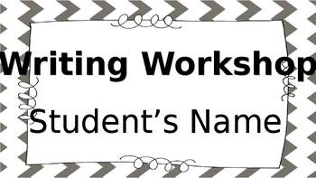 Lucy Calkins Writing Workshop Folder Labels (editable)