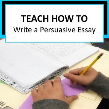 Writers Workshop: Persuasive Essay