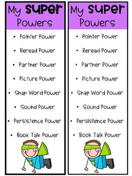 Lucy Calkins unit 2 Super Powers Study Guide