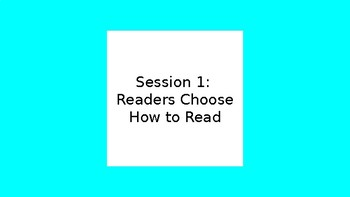 Lucy Caulkins Second Grade Reading: Unit 1 Session 1