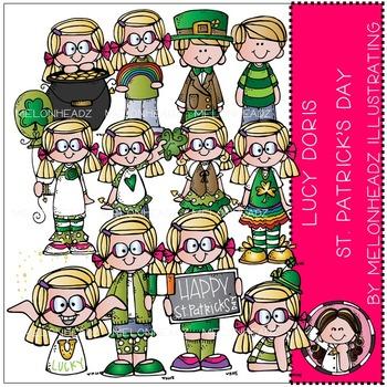 Lucy Doris St Patrick's Day by Melonheadz