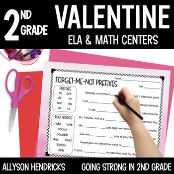 Lucy & Franklin Be Mine Valentine ELA & Math Centers