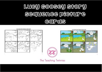 Lucy Goosey Story Sequence Cards