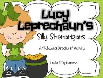 Lucy Leprechaun's Silly Shenanigans
