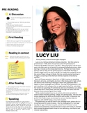 Lucy Liu - ESL Reading, Comprehension Check & Discussion