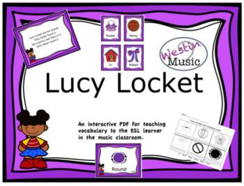 Lucy Locket: ESL Vocab, Flashcards and Worksheets