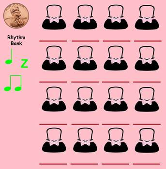 Lucy Locket-PPT Edition - (Steady Beat/Rhythm Notation Activity)