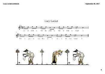 Lucy Locket Smartboard File