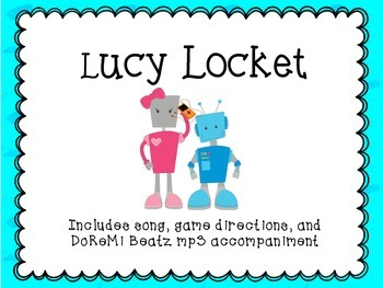 Lucy Locket Song Game with  mp3 Backtrack