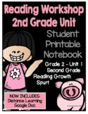 Lucy Reading Workshop: 2nd Grade Notebook - Unit 1 - Dista
