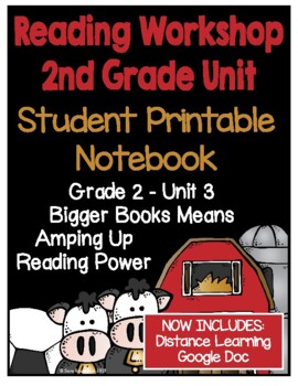 Lucy Reading Workshop - 2nd Grade Notebook - Unit 3