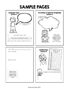 Lucy Reading Workshop: 2nd Grade Notebook - Unit 3 - Distance Learning