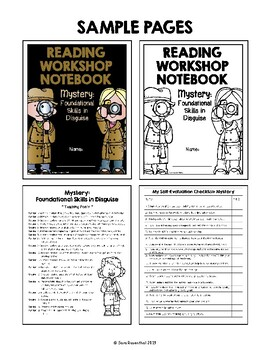 Lucy Reading Workshop - 3rd Grade Notebook - Mystery If/Then Unit