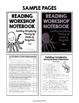 Lucy Reading Workshop - 5th Grade Notebook - Unit 2