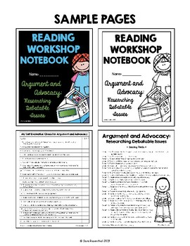 Lucy Reading Workshop - 5th Grade Notebook - Unit 3