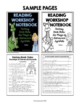 Lucy Reading Workshop - 5th Grade Notebook - Unit 4