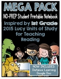 Lucy Reading Workshop - MEGA PACK 1st Grade Notebook
