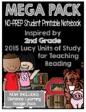 Lucy Reading Workshop - MEGA PACK 2nd Grade Notebook