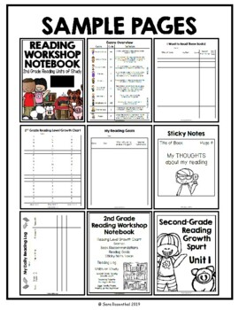 Lucy Reading Workshop: 2nd Grade Notebook - MEGA PACK - Distance Learning
