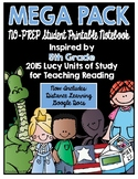 Lucy Reading Workshop - MEGA PACK 5th Grade Notebook
